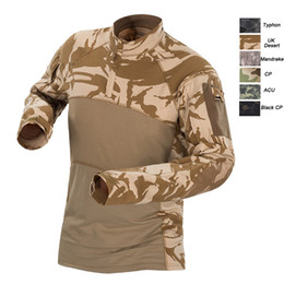 $enCountryForm.capitalKeyWord Australia - Outdoor Woodland Hunting Shooting US Battle Dress Uniform Tactical BDU Army Combat Clothing Camo Shirt Camouflage T-Shirt NO05-013