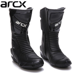 $enCountryForm.capitalKeyWord UK - Free shipping 1pair Motorcycle Boots High Fiber Pro Racing SPEED Motocross Racing Cowhide Leather Shoes