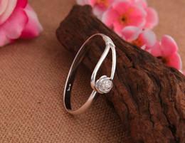 $enCountryForm.capitalKeyWord NZ - Bracelets 925 sterling silver rose flower cuff bracelet fashion bangle for women jewelry bangles Min Order 30pcs Free Shipping