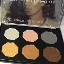 Wholesale Best selling D highlighter palette colors palette edition DHL free