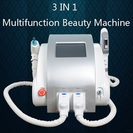 Laser Leg hair removaL online shopping - 3 IN beauty machine OPT SHR laser hair removal equipment IPL Hair Removal laser hair removal legs ND YAG Laser Eyebrow machine
