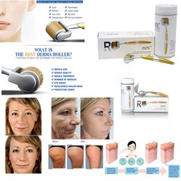 Zgts Derma Roller 192 Titanium Needles Australia - 100% Auth ZGTS 192 Needles Titanium Micro Needle Derma Roller Skin Roller Microneedle Cellulite Anti Aging Age Pore Thinning Improvement