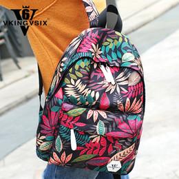 $enCountryForm.capitalKeyWord NZ - VKINGVSIX6 Women Casual Waterproof Backpacks 2018 Hot Sale Flower 3D Printing School Bags For Teen Cheap Girls Travel Packbags Y18110201