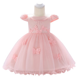 baby years birthday dresses 2019 - New Birthday Baby Dress Baby Girl Wedding Gowns Girl Party Dresses 0-1-2 year Kids Girls New Year clothes cheap baby yea