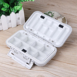 Plastic Fishing Lure Box Case Australia - Double Layer Hard Plastic Fishing Lures Multifunctional Box For Baits Sinkers Waterproof Fishing Tackle Boxes Pesca Storage Case