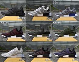 7df6a54a1 2018 NMD R1 STLT Primeknit Porter Duck Camo Army Zebra Triple Black Mens  Women Running Shoes Sport Nmds Runner Primeknit Designer Trainers