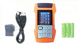 Function Connectors Australia - Fiber Optic Multi Function Energy Meter AOF500 with SC PC Connector Versatile Power High Stable Source Pon Optical Power Meter