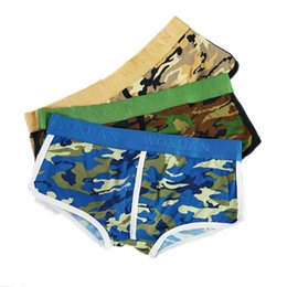 f6207e07c8be41 3 PCS Mens Camo Boxer Shorts Camouflage Underwear Bulge Pouch Trunks  Stretchy Underpants Boxer Briefs Bottoms S-XL