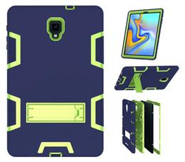 $enCountryForm.capitalKeyWord Australia - For Samsung Galaxy Tab A 10.5 SM-T595 SM-T590 T590 T595 Tablet Pouch Case Heavy Duty Hybrid Armor Shockproof silicon pc Cover