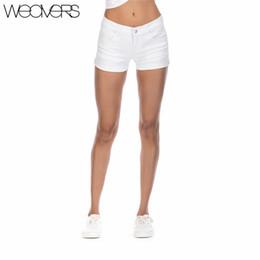 $enCountryForm.capitalKeyWord NZ - New Arrival Skinny Casual Shorts Denim Shorts for Women White Summer Shorts Girls 2018 Sexy Leg Curling Women's Short Jeans S916