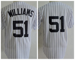 new products 206dc 4d832 top quality new york yankees 51 bernie williams white jersey ...