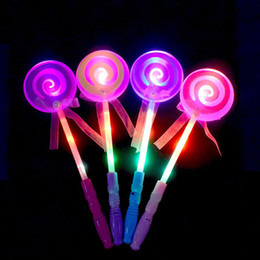 Novelty & Special Use Costumes & Accessories New Fashion Children Girls Princess Led Light Up Butterfly Magic Wand Sticks Flashing Glowing Sticks Party Cosplay Costume Props Halloween