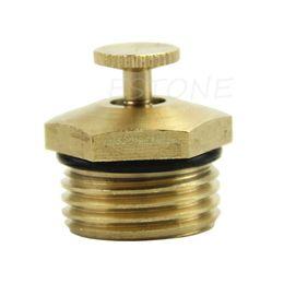 "Metal Patio Australia - 1 2"" Brass Adjustable Atomizing Lawn Mist Sprinkler Patio Gardening Spray Nozzle#T025#"