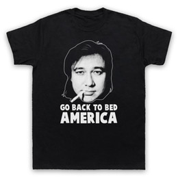America Bedding Canada - BILL HICKS UNOFFICIAL GO BACK TO BED AMERICA COMEDY T-SHIRT ADULTS & KIDS SIZES