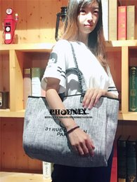 cross bags for girls 2019 - 38cm Large Handbag Women Casual Tote Bag Girls Summer Hand Bag Ballet Printed Shoulder Bags for lady luxury Fashion Shop