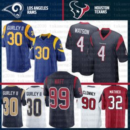 87d628b6c China Houston Texans 10 DeAndre Hopkins 4 Deshaun Watson St.louis Rams  Jersey 30 Todd