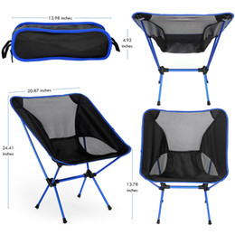 Carry Chair NZ - 4 Colors Lightweight Fishing Chair for outdoors home travel folding seat protable furniture easy carry resting