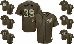 504498ab4 Mens Twins 7 Joe Mauer Baseball Jersey Red White Grey Gray Green Salute  Players Weekend All Stars Team Logo Memorial Day