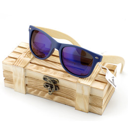 39654bf17d yewear Accessories Sunglasses Men s Bamboo Wood Sunglasses in Vintage Style  with Plastic Frame and Polarized UV Protection Colorful Lens .