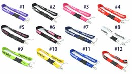 $enCountryForm.capitalKeyWord NZ - Hot sell famous brand logo printing lanyards for employees school id badge iPhone 5s case iPad mini neck strap 24 pcs lots free shipping