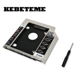 "ssd for macbook 2019 - KEBETEME 2017 2.5"" 9.5mm SATA 2nd HDD SSD Hard Drive Caddy Adapter For MacBook Pro Unibody A1278 A1286 A1297 CD ROM"