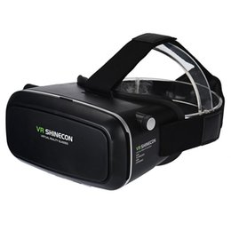 2017 Top sale VR SHINECON VR Virtual Reality Headset, Smart Phone 3D Movies Games Video Glasses with Bluetooth Remote Control