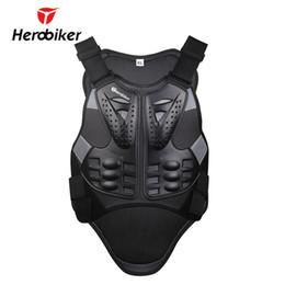 $enCountryForm.capitalKeyWord Australia - HEROBIKER Motorcycle Armor Motorcross Racing Skiing Armour Motorcycle Riding Body Protection Jacket With A Reflecting Strip