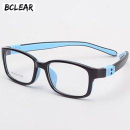 7e37d714a96 BCLEAR TR90 Silicone Glasses Children Flexible Protective Kids Glasses  Diopter Eyeglasses Rubber Child Spectacle Frame Boy Girl