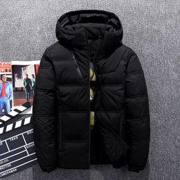 $enCountryForm.capitalKeyWord NZ - Russia Winter Long Thicken Warm Down Casual Cold Red Jacket Men Medium L Fur Collar White Duck Down Coat Jacket Men -40 degree