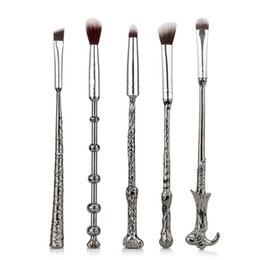 China 5 PCS set Harry Makeup Brush Sets Magic Wand Eye Shadow Brush Beauty Comestic Potter Brush Tools suppliers