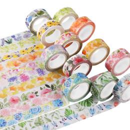 $enCountryForm.capitalKeyWord NZ - Cute Kawaii Plants Flowers Japanese Masking Washi Tape Decorative Adhesive Tape Decora Diy Scrapbooking Sticker Label Stationery 2016
