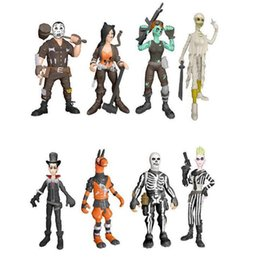 China Fortnite Plastic Action Figures 9cm Cartoon Game Anime Decoration Kids Doll Toys 8pcs set OOA5829 cheap doll decoration games suppliers