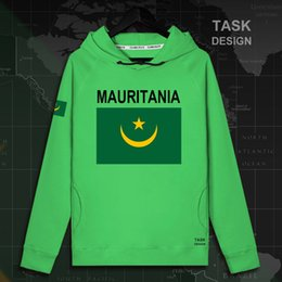 Discount nation flags - Mauritania Mauritanian MR MRT mens hoodie pullovers hoodies men sweatshirt streetwear clothing hip hop tracksuit nation