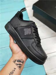 buy online 58cb4 a1431 Vendita calda NIKE AIR FORCE 1 07 lv8 UTILITY LOW Pack Bianco Nero Dunk  Sport Scarpe da skateboard donna uomo Classic AF fly Sneaker da ginnastica  ...