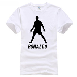 a9ac9315602 Funny 2018 madrid footballer champions league cup europe ronaldo 7 t shirt  new tops Cotton Cool Design 3D Tee Shirts
