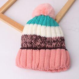 $enCountryForm.capitalKeyWord Australia - New Autumn Winter Cute Infant Baby Hat Kids Knitted Cap Assorted Colors Girls Boys Warm Beanies Child Babies Hats M181