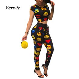 Sexy Yoga Pants For Women Canada - Vertvie Two Piece Suits For Women Running Sets Sexy Fitness Lady Gym Sport Tops High Waist Running Jogging Pants Yoga Tracksuits