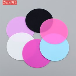 $enCountryForm.capitalKeyWord NZ - 10cm Round Shape Silicone Cup Pad Slip Insulation Pad Cup Mat Pad Hot Drink Holder 6 colors