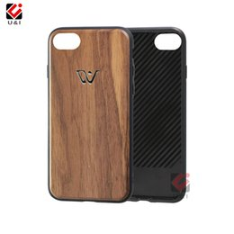 Hybrid Iphone Phone Case NZ - Unique bronzing sublimation wood phone case for iPhone 6 6s s 7 8 plus 6plus,hybrid luxury wooden back cover for i Phone