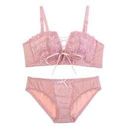 502d9e8030 Fashion Lady Bra Brief Sets Lace Push Up Bra Set Women Underwear Girl Sexy Intimates  Lingerie 2018 New Arrival Transparent