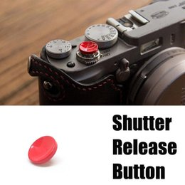 $enCountryForm.capitalKeyWord Australia - Shutter Release For Fuji 1pc 11mm Camera Red Shutter Release Button Concave Supports X20 XPRO2 XT10 XT20 Mayitr