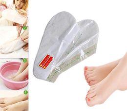 Sock Packs Australia - 2Pair Pack Foot Mask Skin Care Exfoliating Softening Scrub Foot Mask Socks Tendering Feet Care Sticker