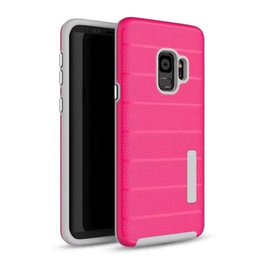 Chinese  Hot Sale For Samsung Galaxy J4 J6 J3 J7 2018 Note 9 Caseology case Hybrid Rugged Dual Layer TPU PC Slim Armor Shockproof Cases Cover DHL manufacturers