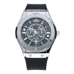 Watches for business online shopping - Quartz Mens Watches High Quality Luxury Wristwatches high end men s Silicone watchband business watches for gift