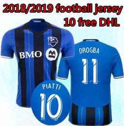 844130e8b new 2018 2019 Montreal Impact Soccer jersey 18 19 25 years Camisa PIATTI  EDWARDS MANCOSU TAIDER Impact home football shirt Free shipping