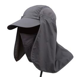 Tennis Hats Sun Protection Australia - Outdoor Sport Hiking Camping Visor  Hat UV Protection Face Neck 271706397e2