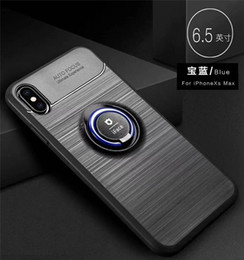 Note Iface Case Australia - iFACE Brushed Car Magnetic Holder Soft TPU Case For iPhone XS MAX XR X 8 PLUS 7 6S Samsung Note 9 8 A6 2018 J4 PLUS 2018 J6 PLUS 2018
