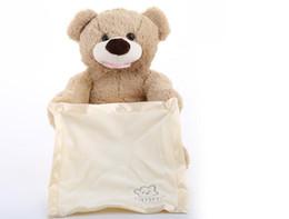 Hidden toy online shopping - Peek a Boo Teddy Bear Play Hide And Seek Lovely Cartoon Stuffed Teddy Bear Kids Birthday Gift Cute Music Bear Plush Toy