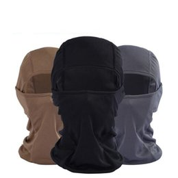 Bicycle ski mask online shopping - Bicycle Cycling Masks Motorcycle Barakra Hat Cycling Caps Outdoor Sport Ski Mask CS windproof dust Face Mask Bicycle Accessories KKA4433
