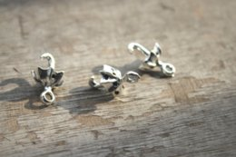 Umbrella charms online shopping - 20pcs of Antique Tibetan silver tone Umbrella Charms pendants D x13mm